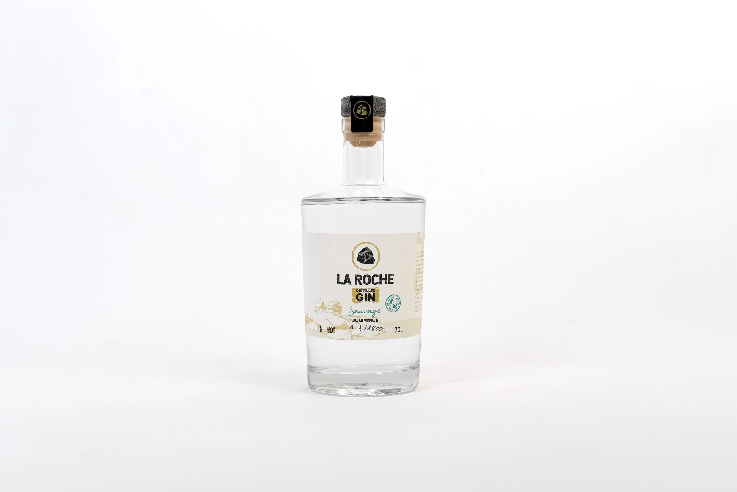 Bouteille Gin La roche - Sauvage